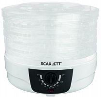 Сушка для фруктов и овощей Scarlett SC-FD421004 5под. 250Вт белый
