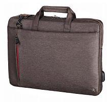 """Сумка для ноутбука 15.6"""" Hama Manchester коричневый полиэстер (00101872)"""