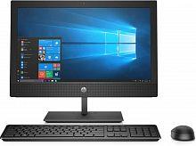 "Моноблок HP ProOne 400 G4 20"" HD+ i3 8100T (3.1)/4Gb/1Tb 7.2k/UHDG 630/DVDRW/CR/Windows 10 Professional 64/GbitEth/WiFi/BT/120W/клавиатура/мышь/Cam/черный 1600x900"
