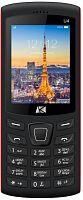 """Мобильный телефон ARK U4 Benefit 32Mb черный моноблок 2Sim 2.4"""" 240x320 0.08Mpix GSM900/1800 MP3 FM microSD max64Gb"""