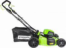 Газонокосилка роторная Greenworks GD60LM51SPK4 (2505607UB)