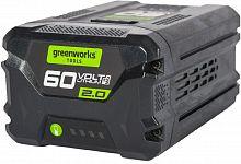 Батарея аккумуляторная Greenworks G60B2 60В 2Ач Li-Ion (2918307)