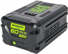 Батарея аккумуляторная Greenworks G60B4 60В 4Ач Li-Ion (2918407)