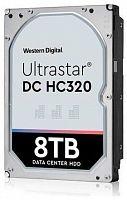 """Жесткий диск WD Original SATA-III 8Tb 0B36404 HUS728T8TALE6L4 Ultrastar DC HC320 (7200rpm) 256Mb 3.5"""""""