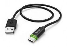 Кабель Hama 00178335 USB Type-C (m) USB A(m) 1м черный