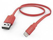 Кабель Hama Flat 00173645 Lightning (m) USB A(m) 1.2м розовый плоский