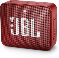 Колонка порт. JBL GO 2 красный 3W 1.0 BT/3.5Jack 730mAh (JBLGO2RED)