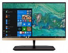 "Моноблок Acer Aspire S24-880 23.8"" Full HD i7 8550u (1.8)/8Gb/1Tb/UHDG 620/CR/Windows 10 Home/GbitEth/WiFi/BT/135W/клавиатура/мышь/Cam/золотистый 1920x1080"
