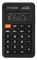 Калькулятор карманный Citizen LC-310NR черный 8-разр.