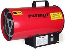 Тепловая пушка газовая Patriot GS 12 красный