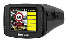 Видеорегистратор с радар-детектором Sho-Me Combo №3 ICATCH GPS ГЛОНАС черный