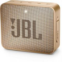 Колонка порт. JBL GO 2 золотистый 3W 1.0 BT/3.5Jack 730mAh (JBLGO2CHAMPAGNE)