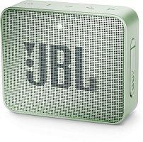 Колонка порт. JBL GO 2 светло-зеленый 3W 1.0 BT/3.5Jack 730mAh (JBLGO2MINT)
