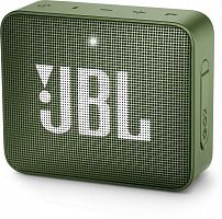 Колонка порт. JBL GO 2 зеленый 3W 1.0 BT/3.5Jack 730mAh (JBLGO2GRN)