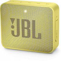 Колонка порт. JBL GO 2 желтый 3W 1.0 BT/3.5Jack 730mAh (JBLGO2YEL)