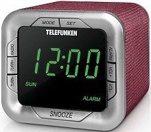 Радиоприемник настольный Telefunken TF-1505 бордовый