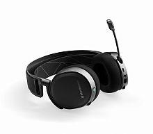 Наушники с микрофоном Steelseries Arctis 7 2019 Edition черный мониторные Radio оголовье (61505)