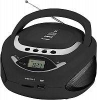 Аудиомагнитола Telefunken TF-CSRP3494B черный 2Вт/CD/CDRW/MP3/FM(an)/USB/BT/SD/MMC