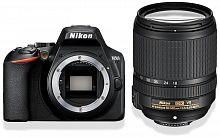 "Зеркальный Фотоаппарат Nikon D3500 черный 24.2Mpix 18-140mm f/3.5-5.6 VR 3"" 1080p Full HD SDXC Li-ion (с объективом)"