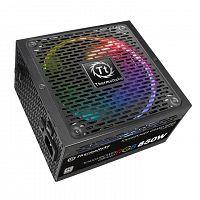 Блок питания Thermaltake ATX 850W Toughpower RGB 80+ platinum (24+4+4pin) APFC 140mm fan color LED 12xSATA Cab Manag RTL