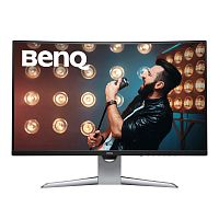 "Монитор Benq 31.5"" EX3203R черный VA LED 16:9 HDMI матовая HAS 400cd 2560x1440 DisplayPort FHD USB 8.1кг"