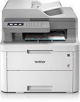 МФУ светодиодный Brother DCP-L3550CDW (DCPL3550CDWR1) A4 Duplex Net WiFi белый/серый