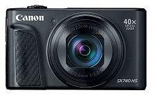 "Фотоаппарат Canon PowerShot SX740HS черный 21.1Mpix Zoom40x 3"" 4K SDXC/SD/SDHC CMOS 1x2.3 IS opt 1minF turLCD 10fr/s 30fr/s HDMI/WiFi/NB-13L"