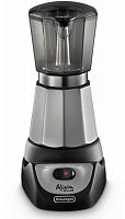 Кофеварка гейзерная Delonghi EMKM.6.B 450Вт черный/серебристый