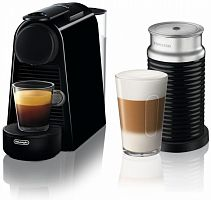 Кофемашина Delonghi Nespresso Essenza mini Bundle EN85.BAE 1260Вт черный
