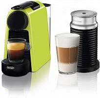 Кофемашина Delonghi Nespresso mini Bundle EN85.LAE 1260Вт зеленый