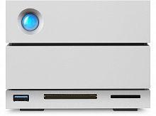 "Жесткий диск Lacie Original Thdb3 12.2Tb STGB12000400 2big Dock (7200rpm) 3.5"" серебристый USB 3.0"