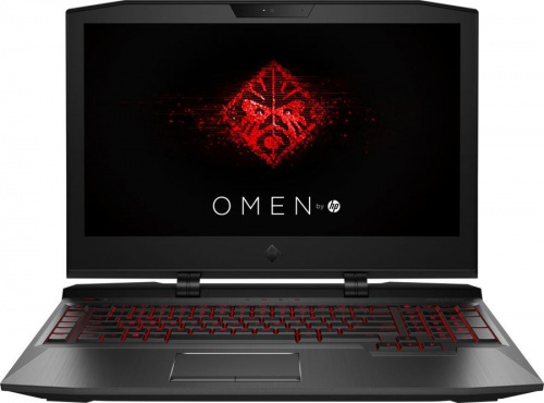 "Ноутбук HP Omen X 17-ap011ur Core i7 7820HK/32Gb/1Tb/SSD256Gb/nVidia GeForce GTX 1080 8Gb/17.3""/UHD (3840x2160)/Windows 10/black/WiFi/BT/Cam"