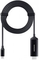Кабель Samsung DeX EE-I3100FBRGRU USB Type-C HDMI 1.38м черный (упак.:1шт)