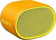 Колонка порт. Sony SRS-XB01 желтый 3W 2.0 BT 20м 600mAh 1xAA (без.бат) (SRSXB01Y.RU2)