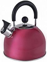 Чайник металлический Endever Aquarelle 302 3л. бордовый