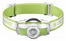 Фонарь налобный Led Lenser MH5 зеленый/белый лам.:светодиод. 400lx (501952)