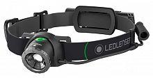 Фонарь налобный Led Lenser MH10 черный лам.:светодиод. 600lx (501513)