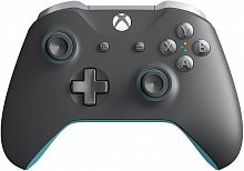 Геймпад Беспроводной Microsoft WL3-00106 серый/синий для: Xbox One