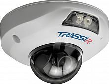 Видеокамера IP Trassir TR-D4141IR1 2.8-2.8мм цветная корп.:белый