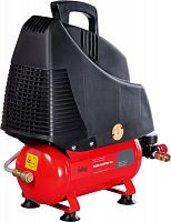 Компрессор поршневой Fubag Paint Master Kit безмасляный 180л/мин 6л 1100Вт красный/черный