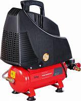 Компрессор поршневой Fubag Basic Wood Master Kit безмасляный 180л/мин 6л 1100Вт красный/черный