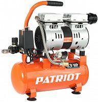 Компрессор поршневой Patriot WO 10-120 безмасляный 120л/мин 10л 650Вт оранжевый