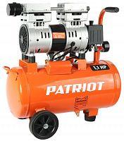 Компрессор поршневой Patriot WO 24-160 безмасляный 160л/мин 24л 1100Вт оранжевый