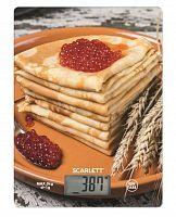Весы кухонные электронные Scarlett SC-KS57P45 макс.вес:5кг рисунок