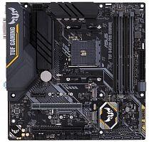Материнская плата Asus TUF B450M-PRO GAMING Soc-AM4 AMD B450 4xDDR4 mATX AC`97 8ch(7.1) GbLAN RAID+DVI+HDMI