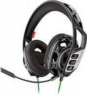 Наушники с микрофоном Plantronics RIG 300 HX черный/зеленый 1.5м мониторные оголовье (211835-05)