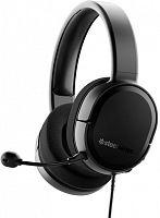 Наушники с микрофоном Steelseries Arctis Raw черный 3м мониторные оголовье (61496)