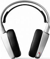 Наушники с микрофоном Steelseries Arctis 5 2019 Edition белый 3м мониторные USB оголовье (61507)