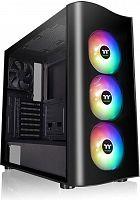 Корпус Thermaltake View 23 TG ARGB черный без БП ATX 6x120mm 3x140mm 2xUSB3.0 audio bott PSU