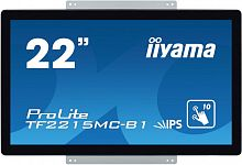 "Монитор Iiyama 21.5"" ProLite TF2215MC-B1 черный IPS LED 14ms 16:9 HDMI матовая 250cd 178гр/178гр 1920x1080 D-Sub DisplayPort FHD USB Touch 4.4кг"